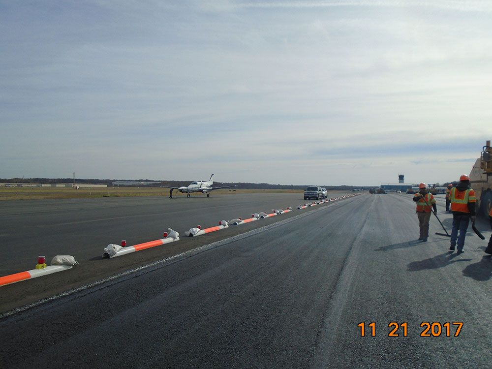 Dulles Aviation remains open during construction.